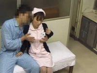 院内セックス盗撮!患者を呼び出し勤務中にチ〇ポを入れてもらう欲求不満看護婦