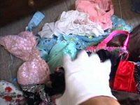 女性宅不法侵入下着盗撮!留守中に忍び込みセクシーなパンティーやブラジャーを物色