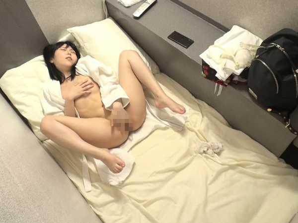 女性専用カプセルホテルオナニー盗撮6