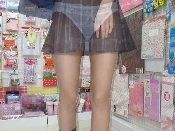 女子校生女子大生透視カメラ 6991-4