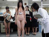 ロリっ娘だらけの全裸健康診断!ちっぱいを見られて恥じらう低身長新入社員