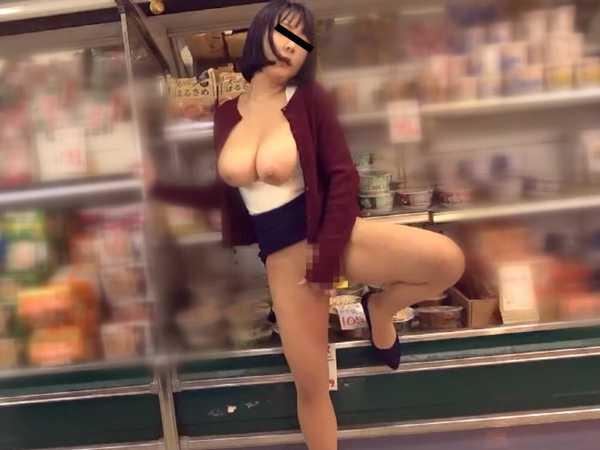 スーパーマーケット猥褻犯罪-2