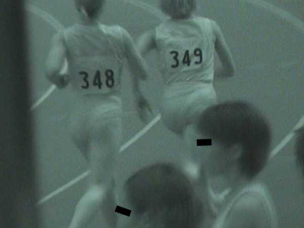 赤外線透視 女子陸上-2