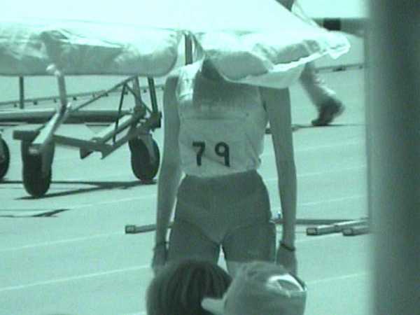 赤外線透視 女子陸上-3
