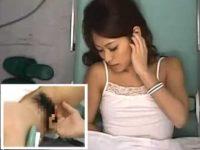 産婦人科で手マンでイカされるキレイなお姉さん「どうしました?」聞く看護婦