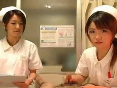 「10分以内に射精した場合バイアグラは処方できません!」看護婦の手コキに80秒で発射