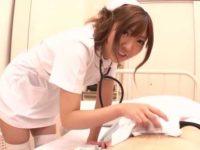 カラダを拭く看護婦「気持ち悪いですよねぇ..」シコシコされて気持ちよくなる患者