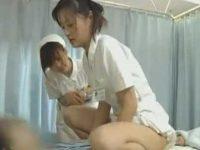 性交治療で騎乗位で腰を振る看護婦「いつでもいいですよ!あんっ..」喘ぐと減点