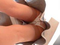 買い物中の清楚系女性を逆さ撮り!雰囲気とのギャップがあるエッチな透けパンツ